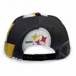 Fashion NFL Pittsburgh Steelers baseball cap #167364 soft and breathable sports leisure cap